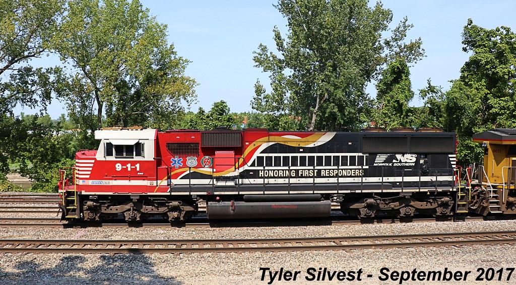 3/9 NS 911 Leads WB Manifest Kansas City, KS 9-9-17 | Flickr