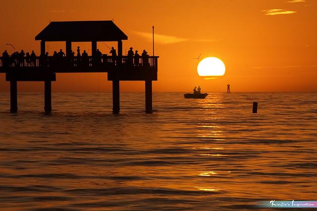 Sunset Moment, Pier 60 *Nature's Portraits Inspiration*