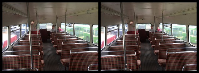 3D Routemaster Bus Top Deck