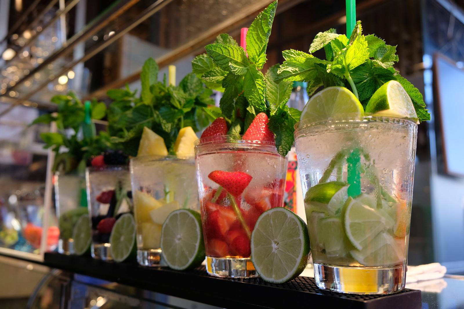Drinks at Mercado de San Miguel