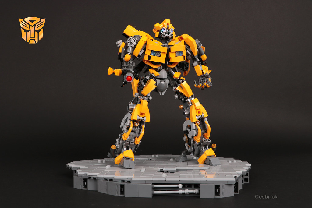 Bumblebee (custom built Lego model)
