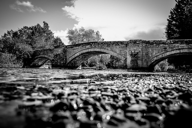 Pooley bridge before the floods