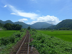 当駅付近(上雨屋)の風景