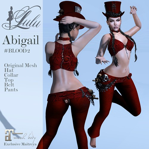 Abigail_Blood2 | by LuLu ♛MISS-SL France 2016