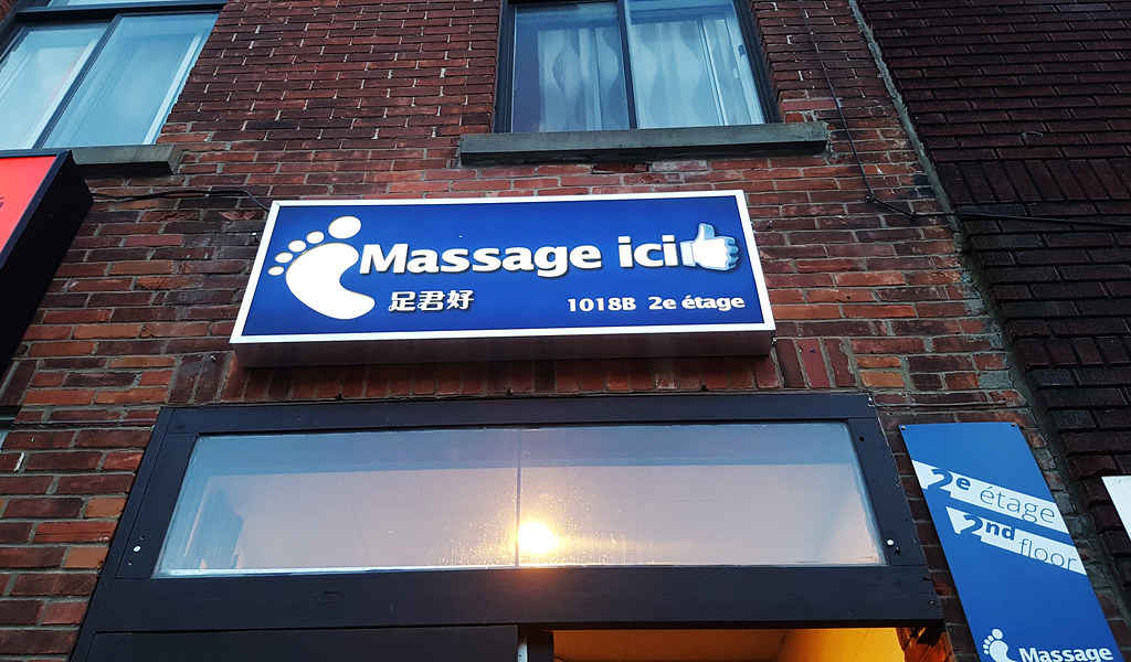 Agree asian massage montreal chinatown