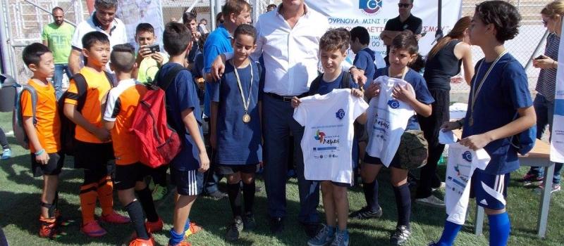 Mini Football Tournament – Τουρνουά Μίνι Ποδοσφαίρου