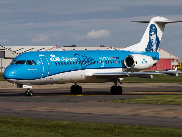 KLM Cityhopper | Fokker 70 | PH-KZU