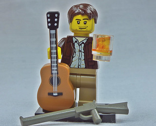 Brick Yourself Custom Lego Figure Becks, Slugs and Rock n Roll | by BrickManDan