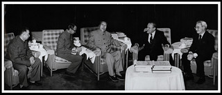 Mao Tse-tung and Robert Muldoon, April 1976