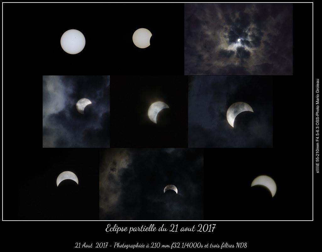 Eclipse partielle du 21 aout 2017