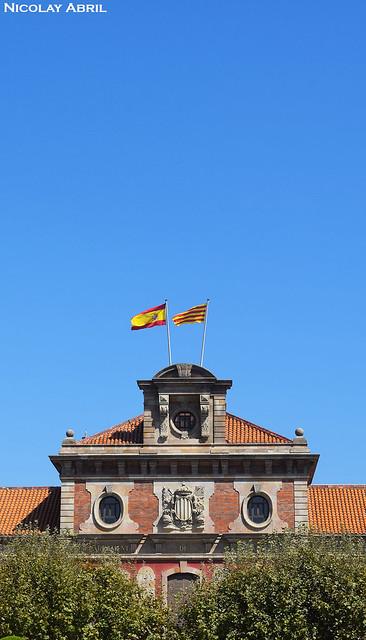 Parliament of Catalonia building - Barcelona