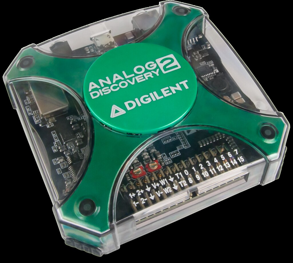 Analog Discovery 2: 100MS/s USB Oscilloscope, Logic Analyz