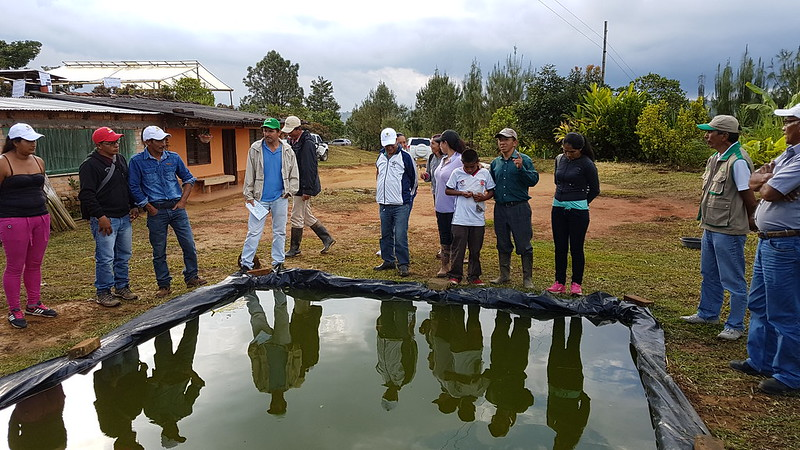Colombia-Honduras exchange on adaptation in Climate-Smart Villages