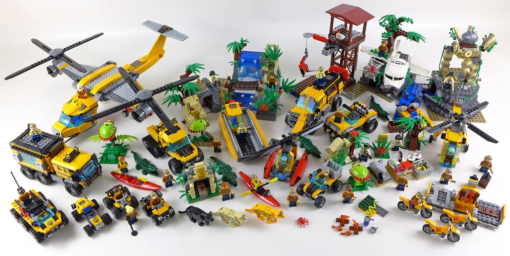 126be0000a21 LEGO City Jungle All Sets 31 | noriart | Flickr