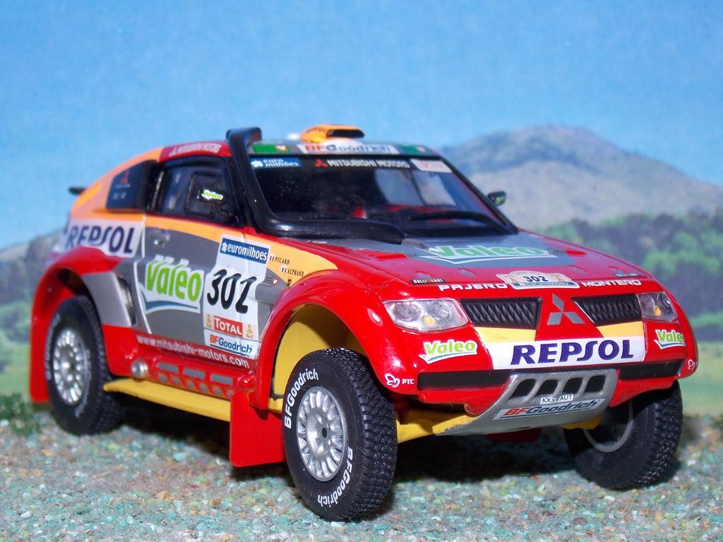 Mitsubishi Pajero Evolution – Dakar 2006