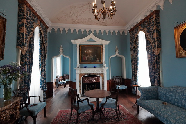 The Blue Room, St Michael's Mount
