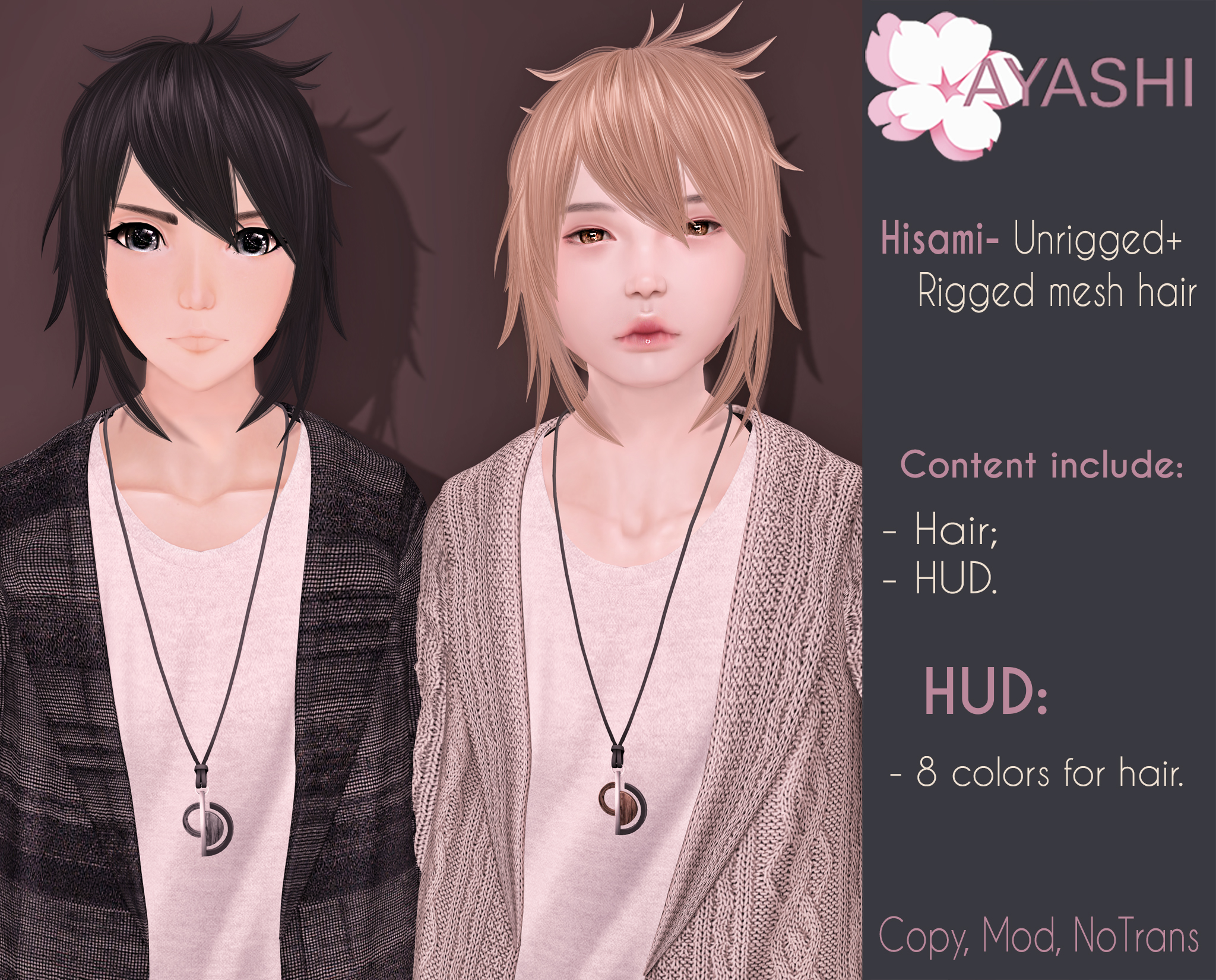 [^.^Ayashi^.^] Hisami male hair