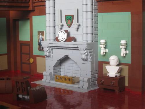 Wayne Manor - First Floor - Salon