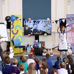 Tracey Corderoy & Steven Lenton schools event | © Brian Craig