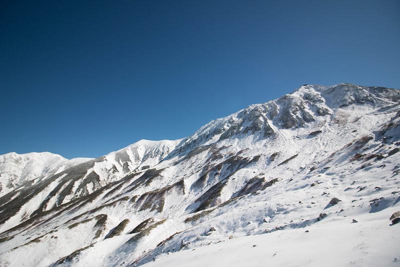 11月の立山登山