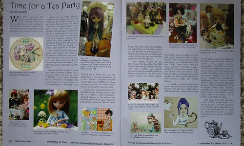 Doll Castle News coverage of PUDDLE