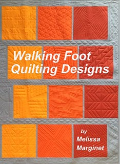 Walking Foot Quilting Designs is a collection of dozens of quilting designs with variations and combinations to give you over 100 ideas for quilting your own quilt on your home sewing machine. More info and to order yours visit www.melissamarginet.ca