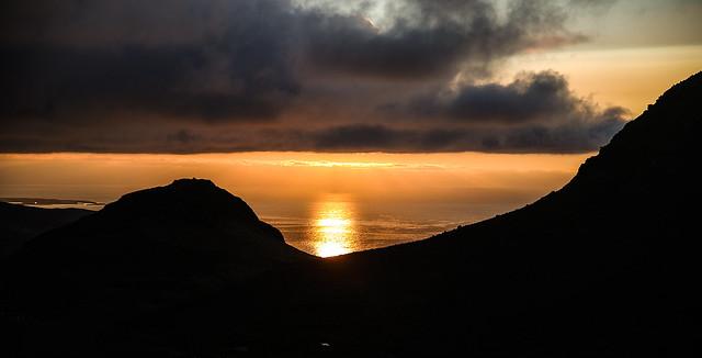 Sunset on the  Breiðafjörður