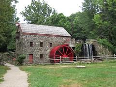 Mill at Wayside Inn Waterfall, Massachusetts