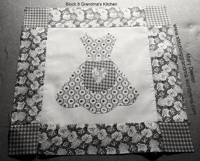 Block 8 of 25 Grandma's Apron block