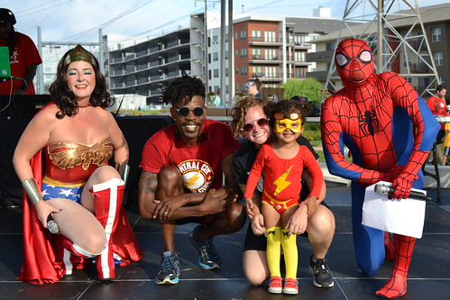 CW Austin Flash Winner: Maisie Donald and the Kid Flash Family | by CASA of Travis County