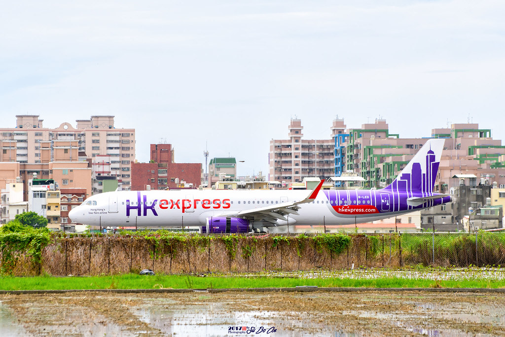 2017 8 27 香港快運航空hk Express B Led Airbus A321 231 柏安蘇 Flickr