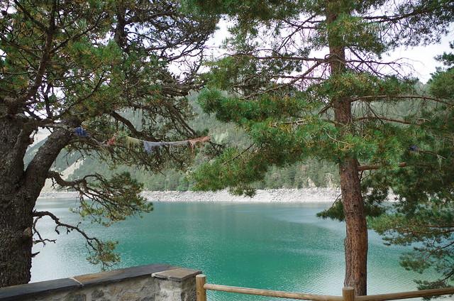 au refuge du lac d' Oredon