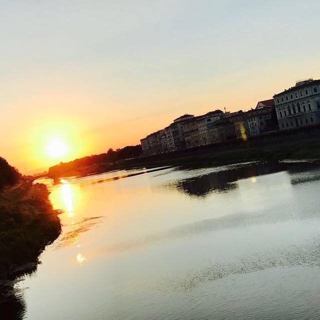 Il fiume di sera