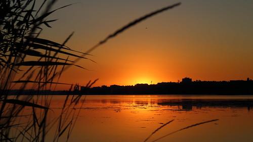canoneosm canon sunrise summer nature ukraine mykolaiv beach landscape river