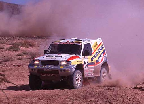Mitsubishi Pajero EVO – Dakar 1998