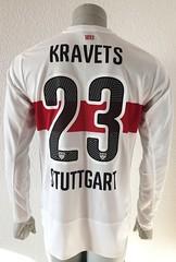 Artem Kravets, VFB Stuttgart 15/16, player issued shirt