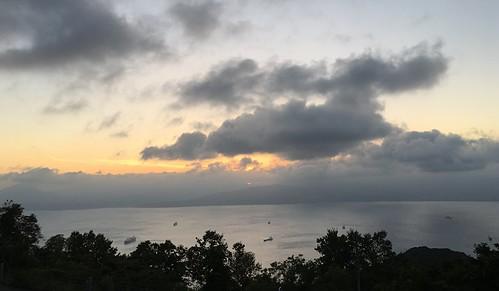 hakodate hokkaido japan sunset photoscapex sea clouds
