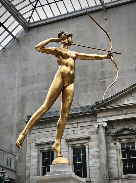 Diana takes aim