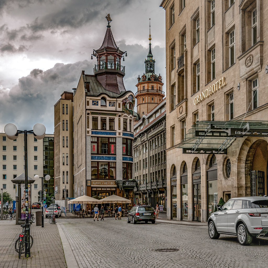 Leipzig Square This Photo Has Been Edited With The Help Of Flickr