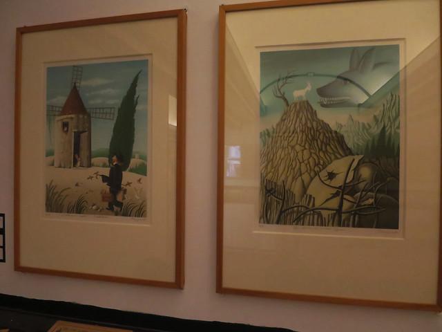 Museum Peynet and cartoon Antibes French Riviera