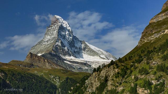 Le Cervin / Matterhorn / Monte Cervino (Switzerland)
