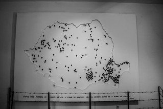 Harta Inchisorilor Comuniste Din Romania Ionut Flickr