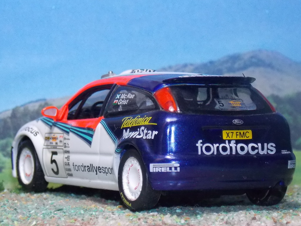 Ford Focus WRC – Acrópolis 2002