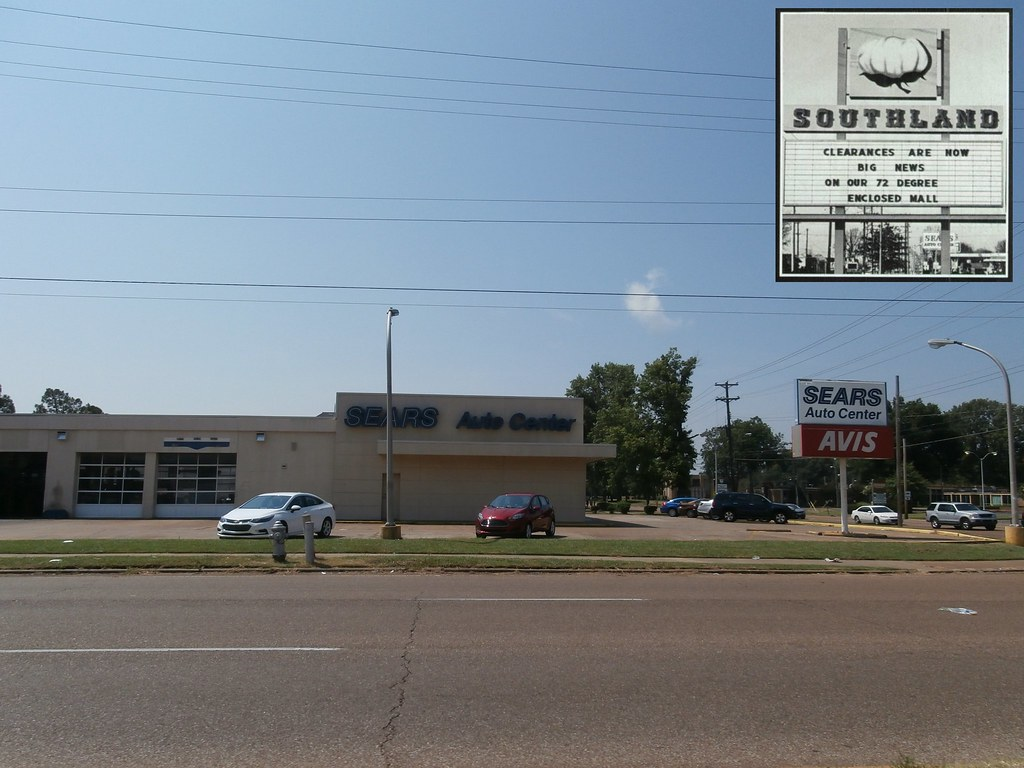 Squeezing in a Sears Auto Center photo (with bonus vintage