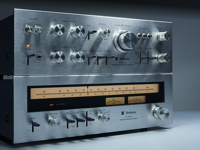 Technics SU/ST 3500 Stereo Amplifier/Tuner