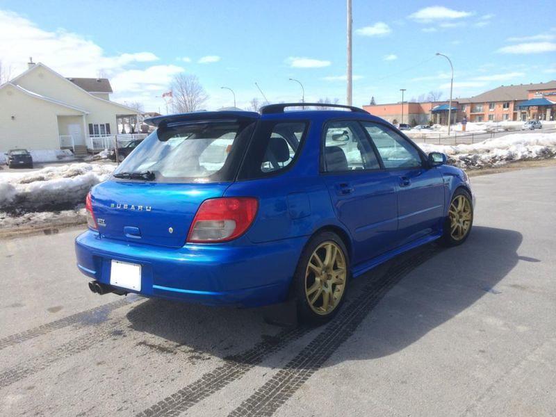 Subaru Impreza WRX STi – 2001