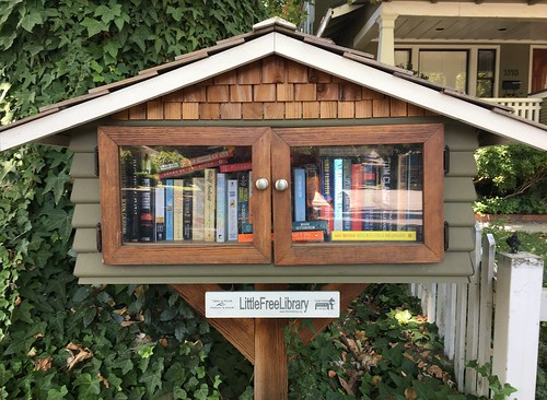 One of Sacramento's smallest libraries.