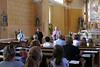 Nach dem Konzert hält Dr. Franz Metz einen kleinen Vortrag über die Geschichte der Orgeln in Billed und im Banat