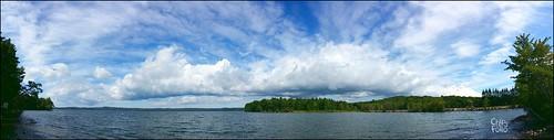 lakeauburn auburn maine clouds panorama galaxynote3 chipsfolio