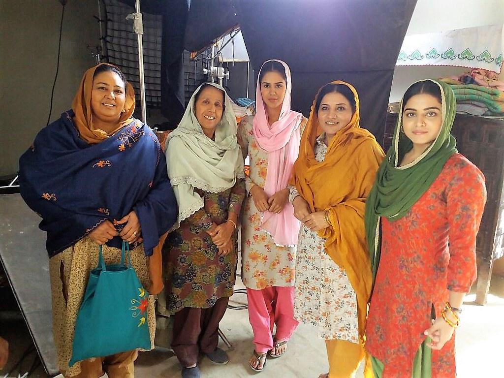Anita Devgan Gurpreet Bhangu Sonam Bajwa Parminder Gill Flickr